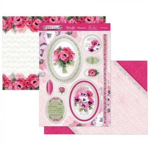 Pretty Poppies Luxury Topper Set